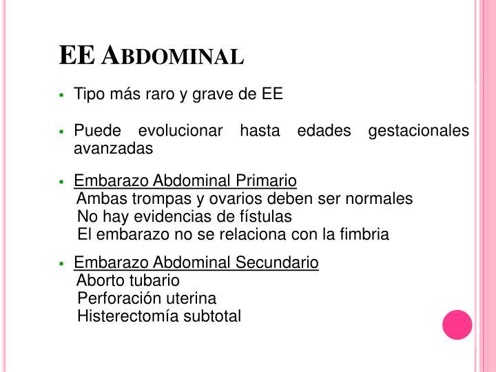 EE Abdominal
