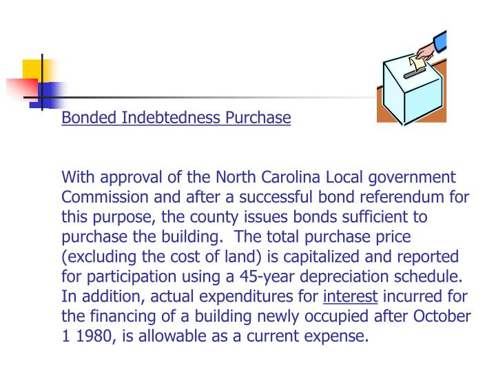 Bonded Indebtedness Purchase