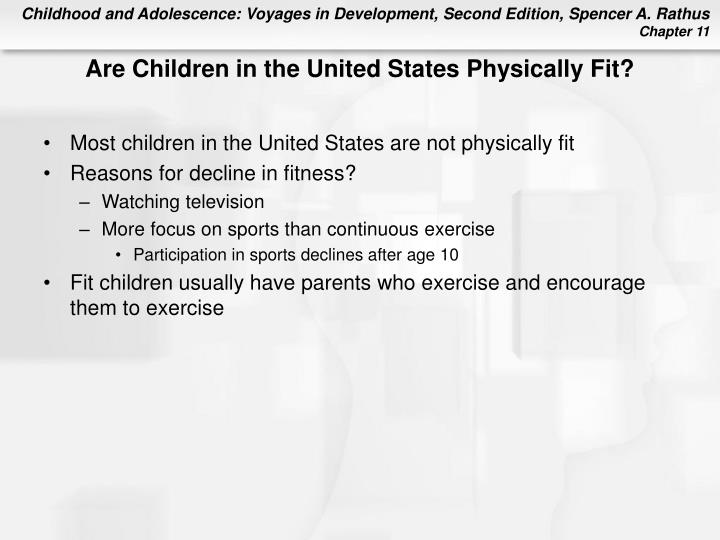 Are Children in the United States Physically Fit?
