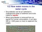 4 2 how water moves in the water cycle1