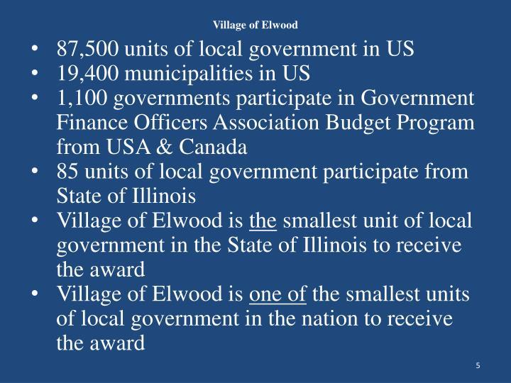 Village of Elwood
