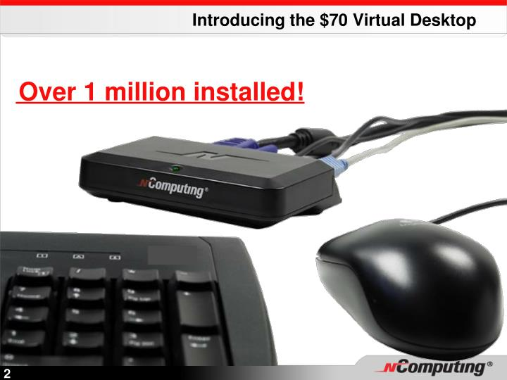 Introducing the $70 Virtual Desktop