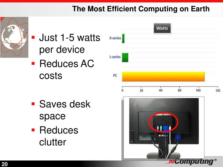 The Most Efficient Computing on Earth