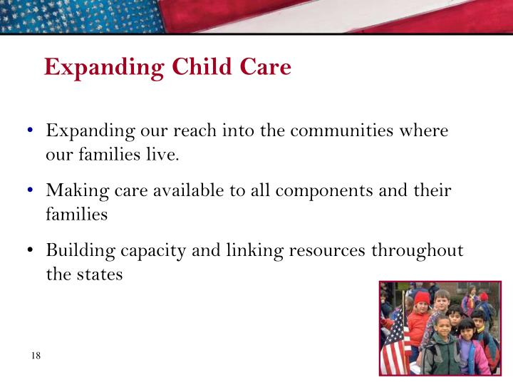 Expanding Child Care