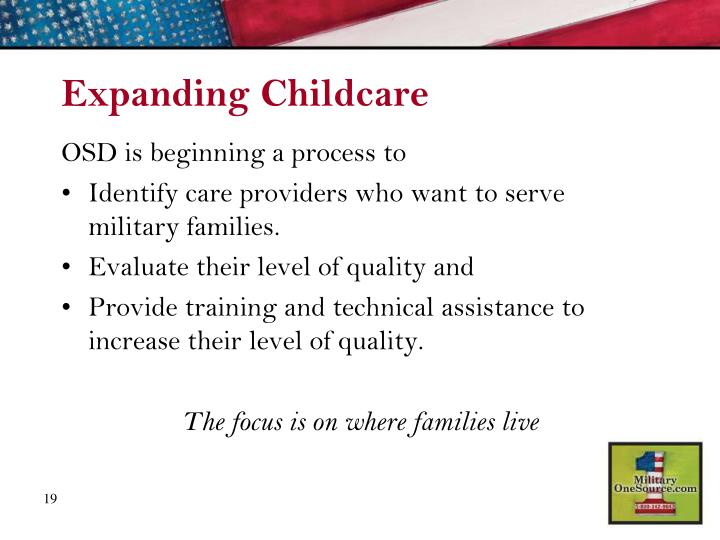 Expanding Childcare