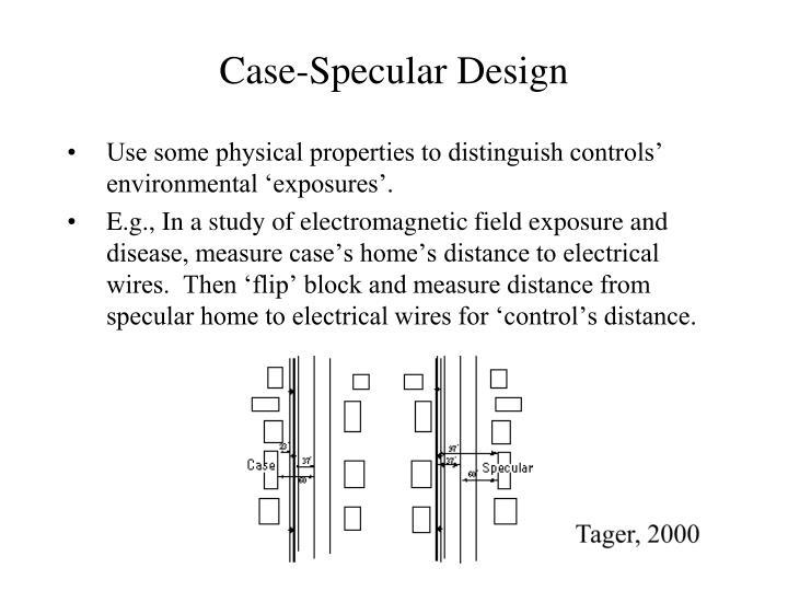 Case-Specular Design