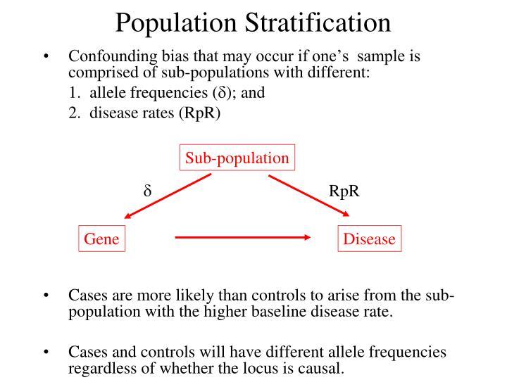 Sub-population
