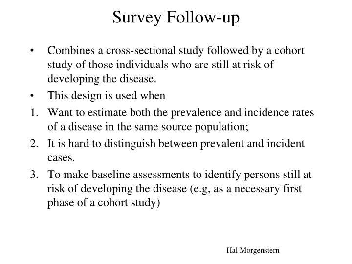Survey Follow-up