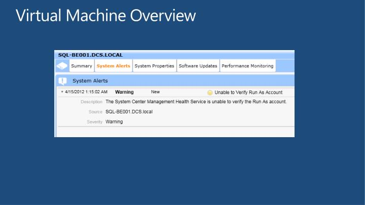 Virtual Machine Overview