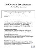 professional development skill building activities
