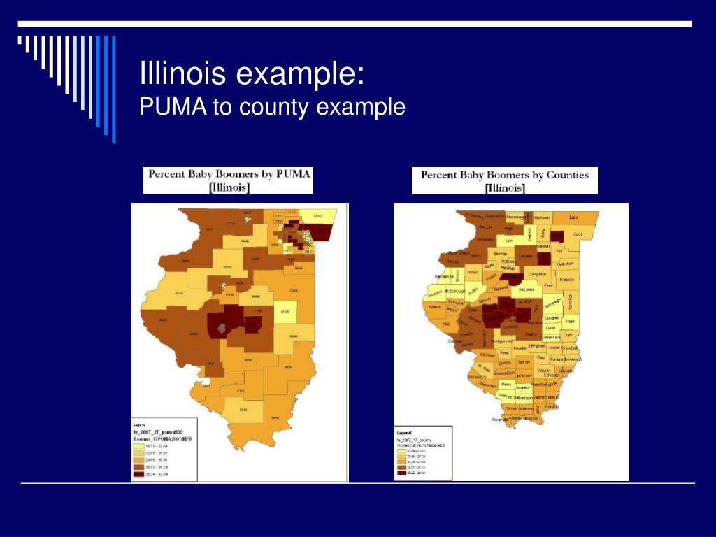 Illinois example:
