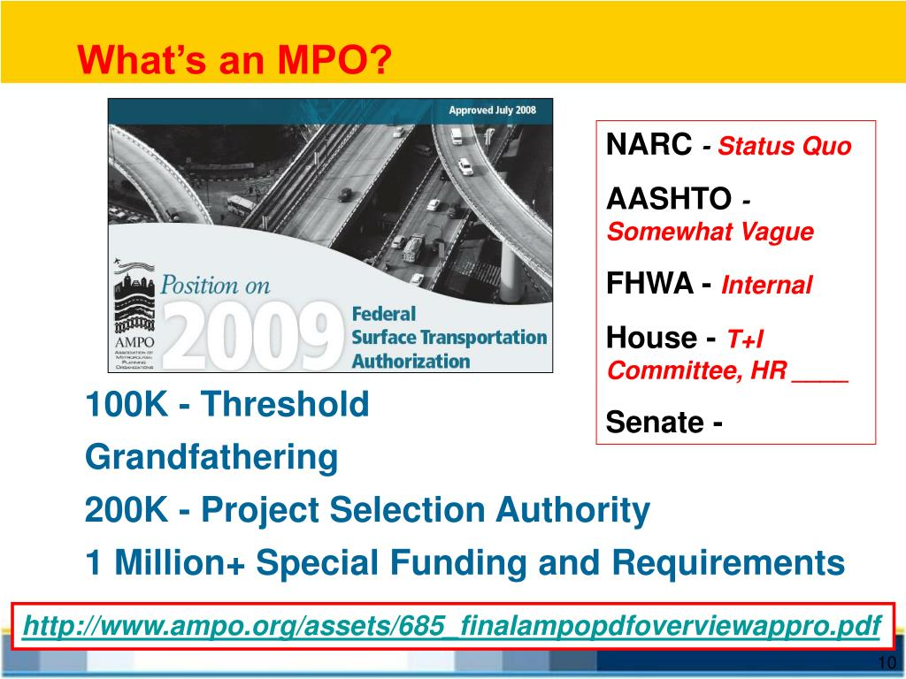 What's an MPO?