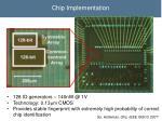 chip implementation