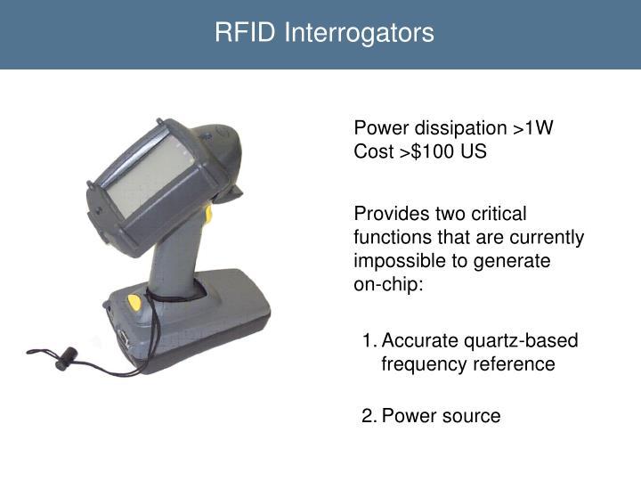 RFID Interrogators