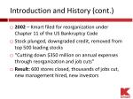 introduction and history cont1