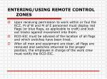 entering using remote control zones3
