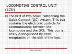 locomotive control unit lcu