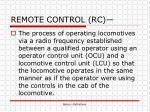 remote control rc