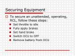securing equipment1