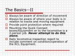 the basics ii