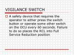 vigilance switch