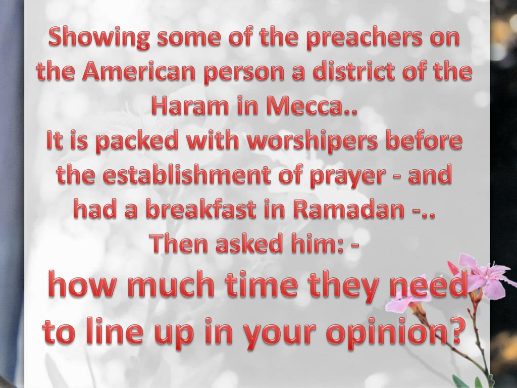 Showing some of the preachers on the American