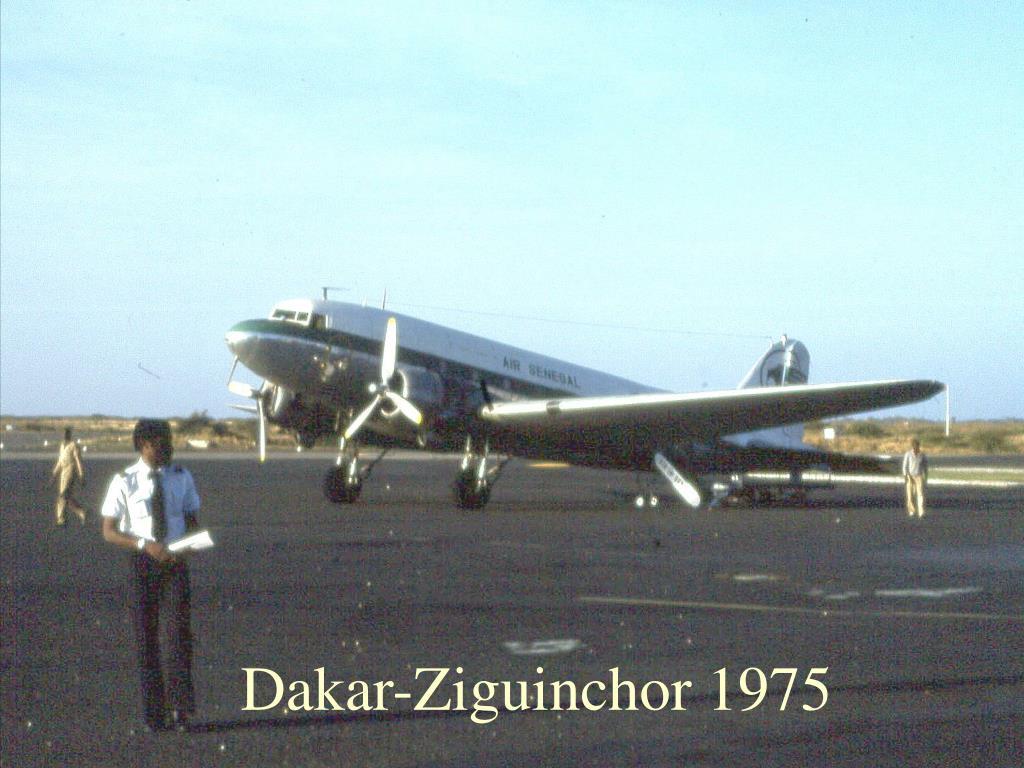 Dakar-Ziguinchor 1975