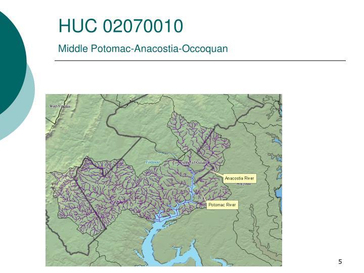 HUC 02070010