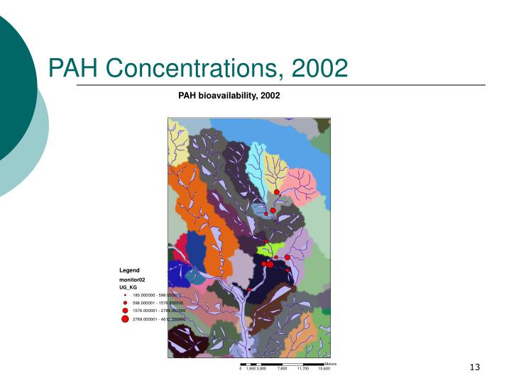 PAH Concentrations, 2002