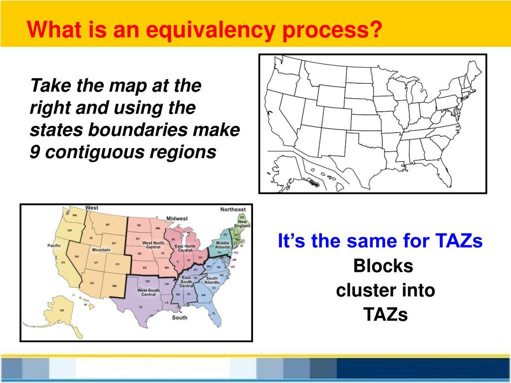 What is an equivalency process?