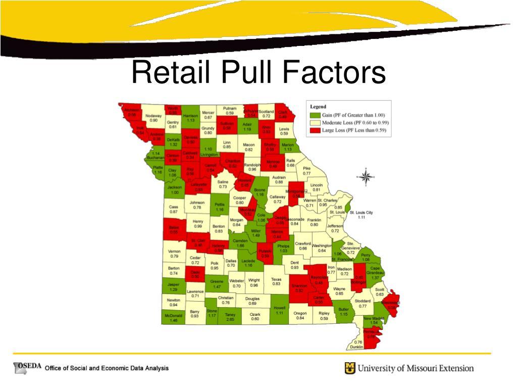Retail Pull Factors