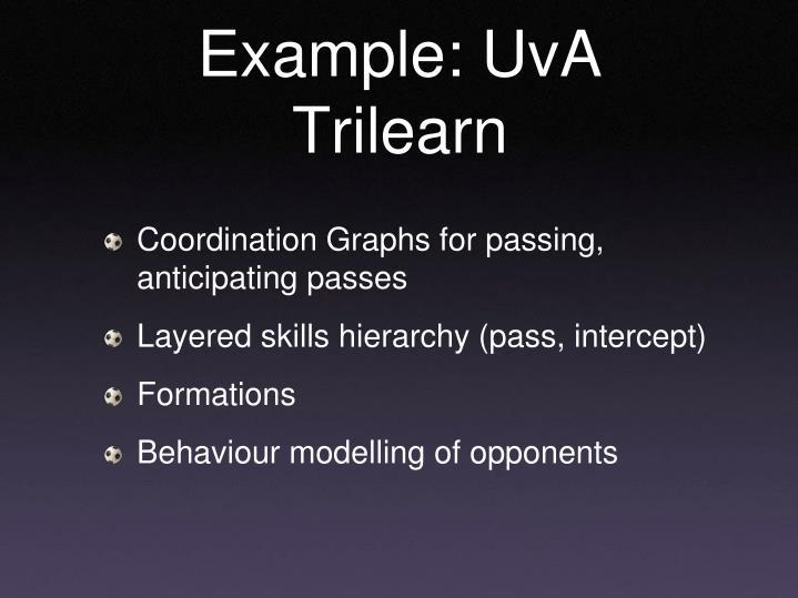 Example: UvA Trilearn