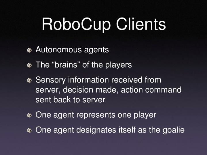 RoboCup Clients