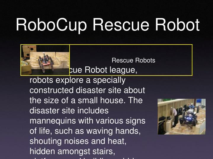 RoboCup Rescue Robot