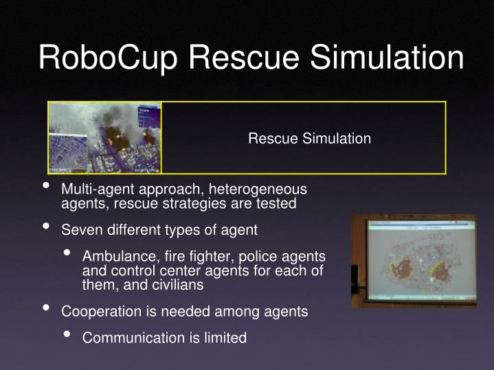 RoboCup Rescue Simulation