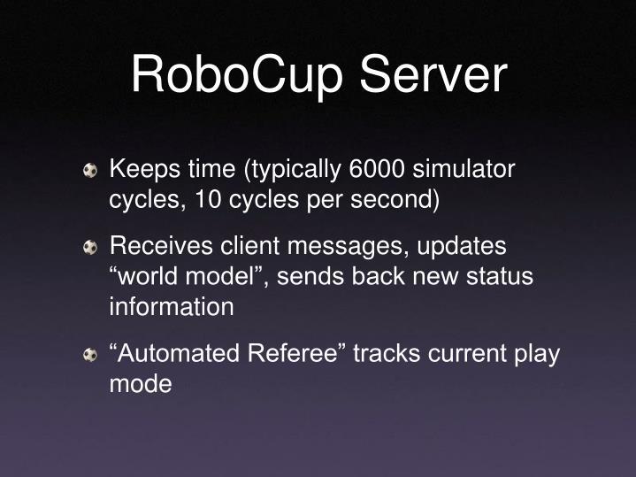 RoboCup Server