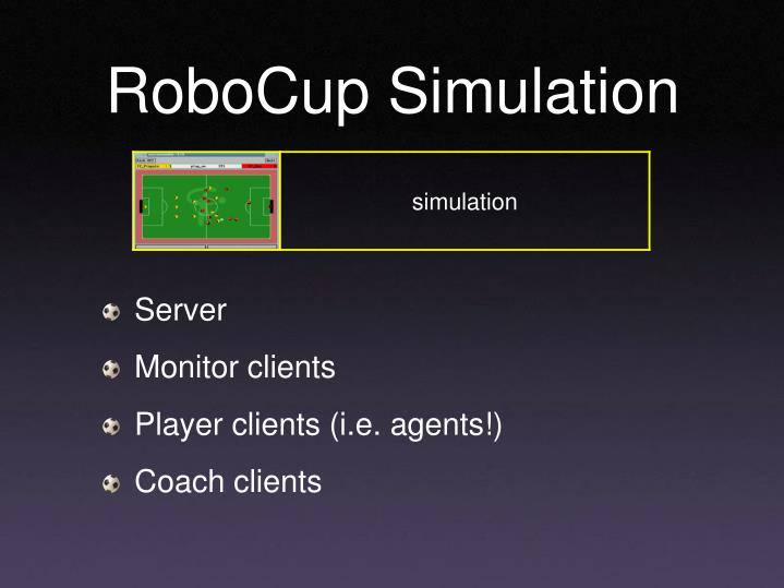 RoboCup Simulation
