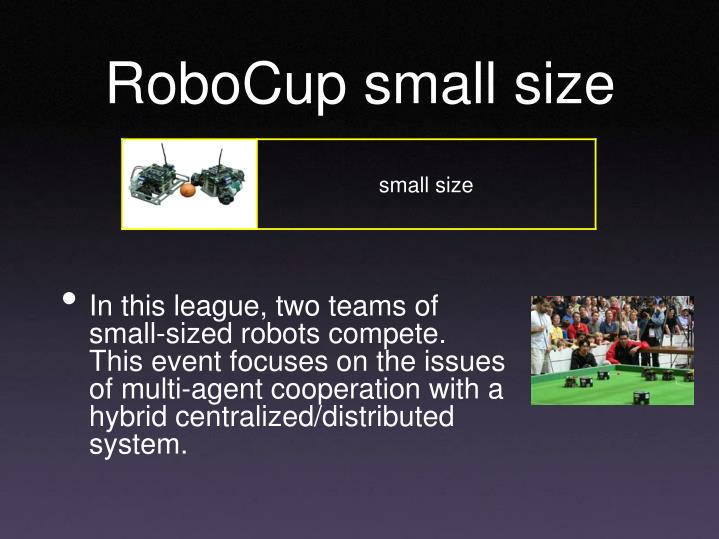 RoboCup small size