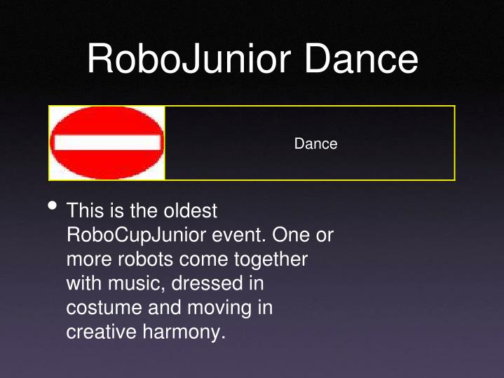 RoboJunior Dance