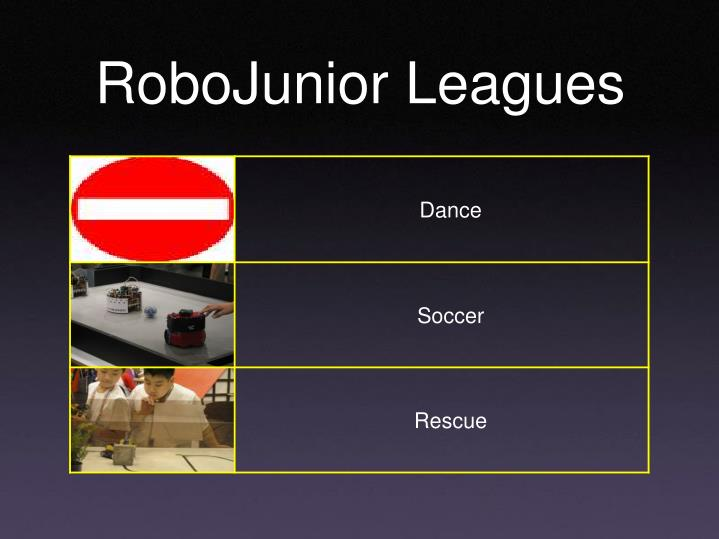 RoboJunior Leagues