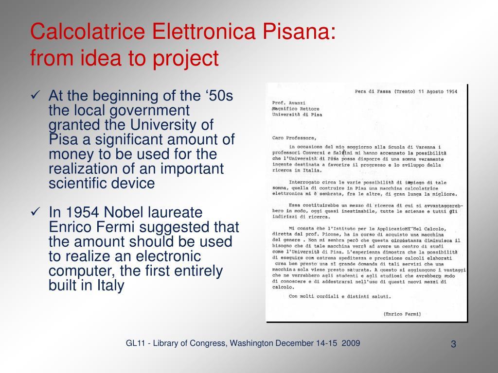Calcolatrice Elettronica Pisana: