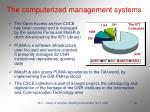 the computerized management systems