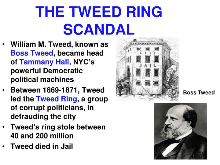 THE TWEED RING SCANDAL