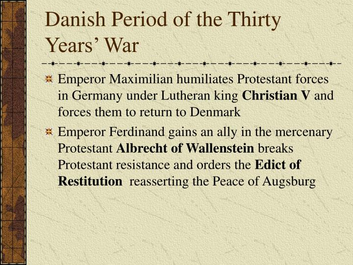 Danish Period of the Thirty Years' War