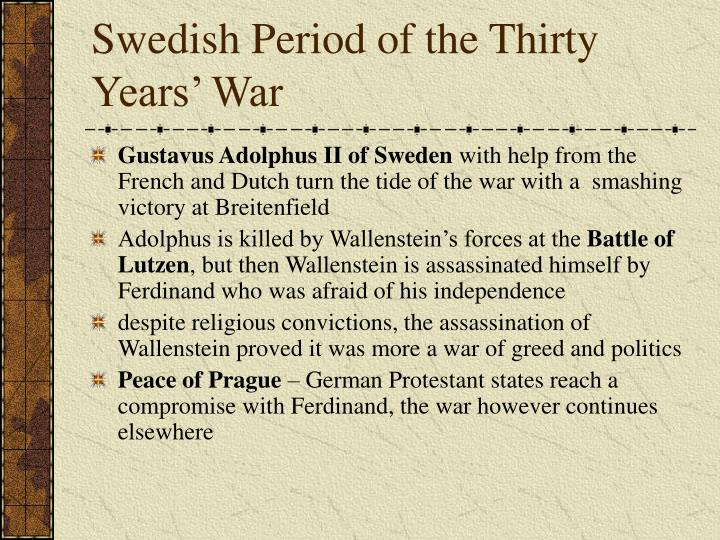 Swedish Period of the Thirty Years' War
