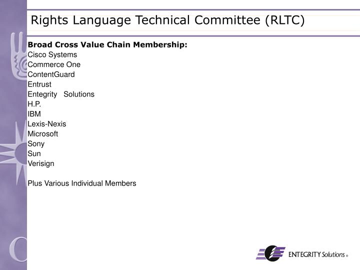 Broad Cross Value Chain Membership: