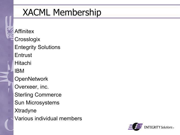 XACML Membership