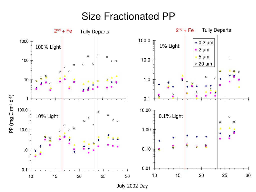 Size Fractionated PP