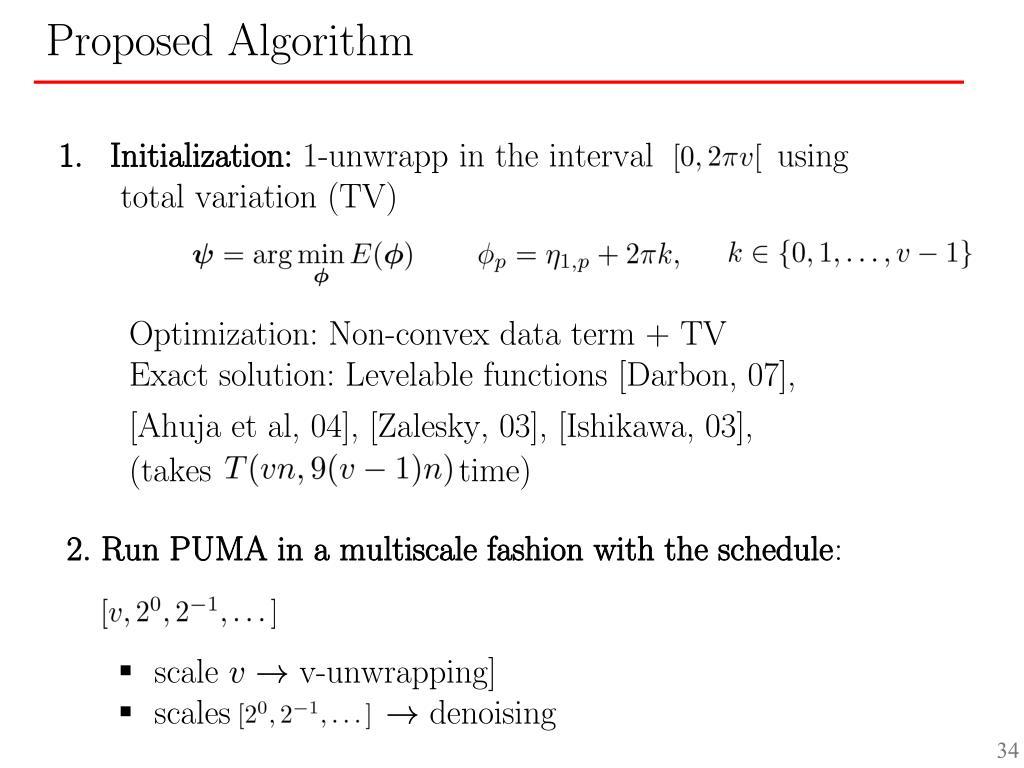 Initialization: