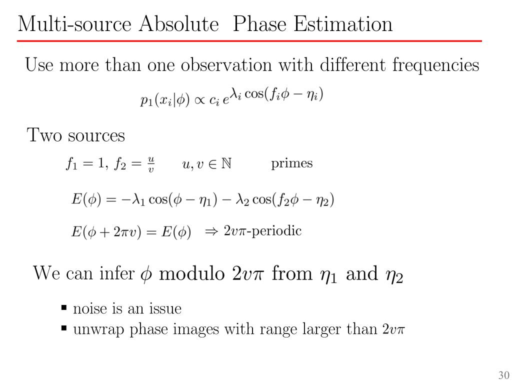 Use more than one observation with different frequencies